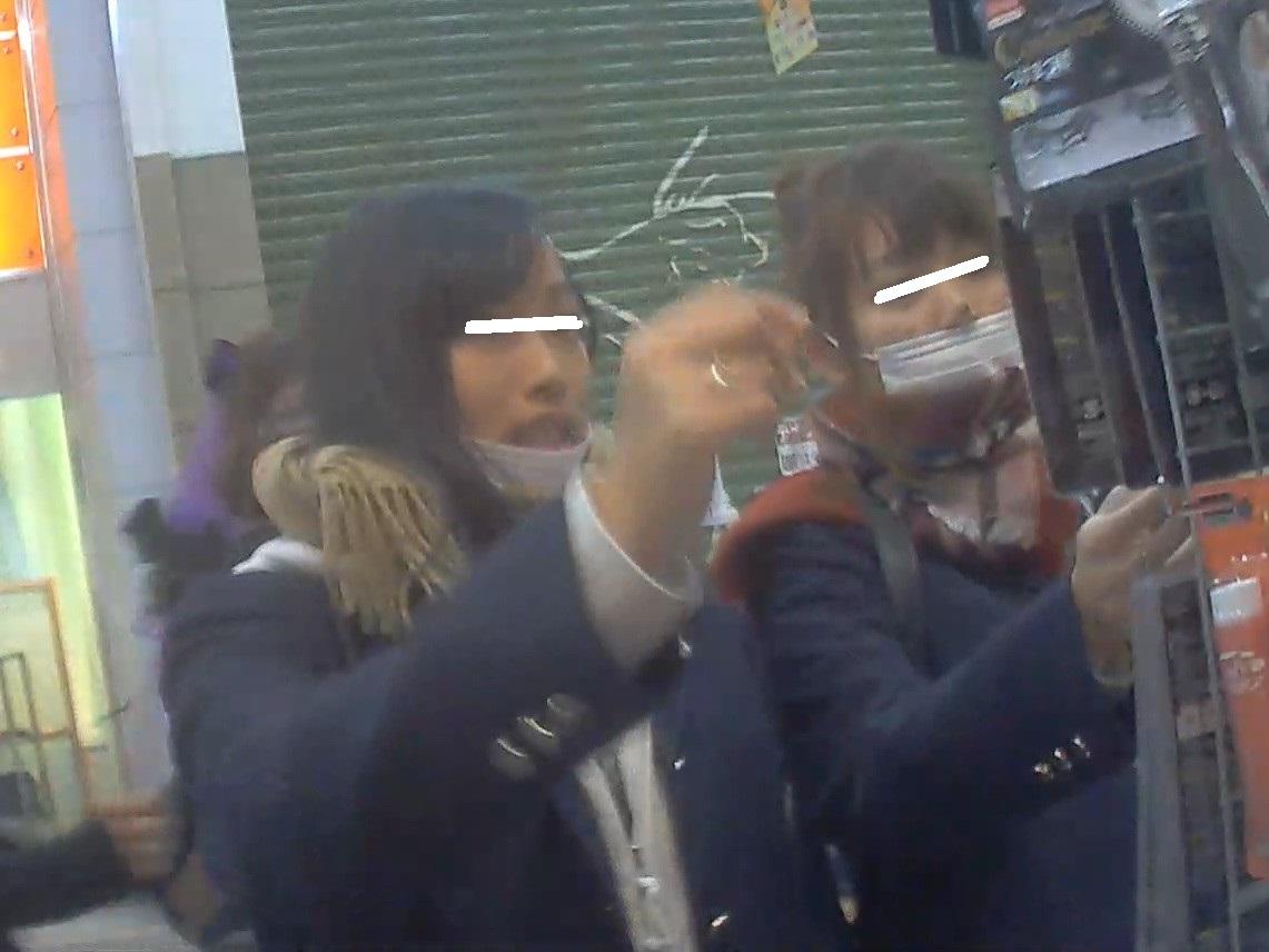 クール系JK編 禁断の逆さ撮りシーズン2 Vol.9