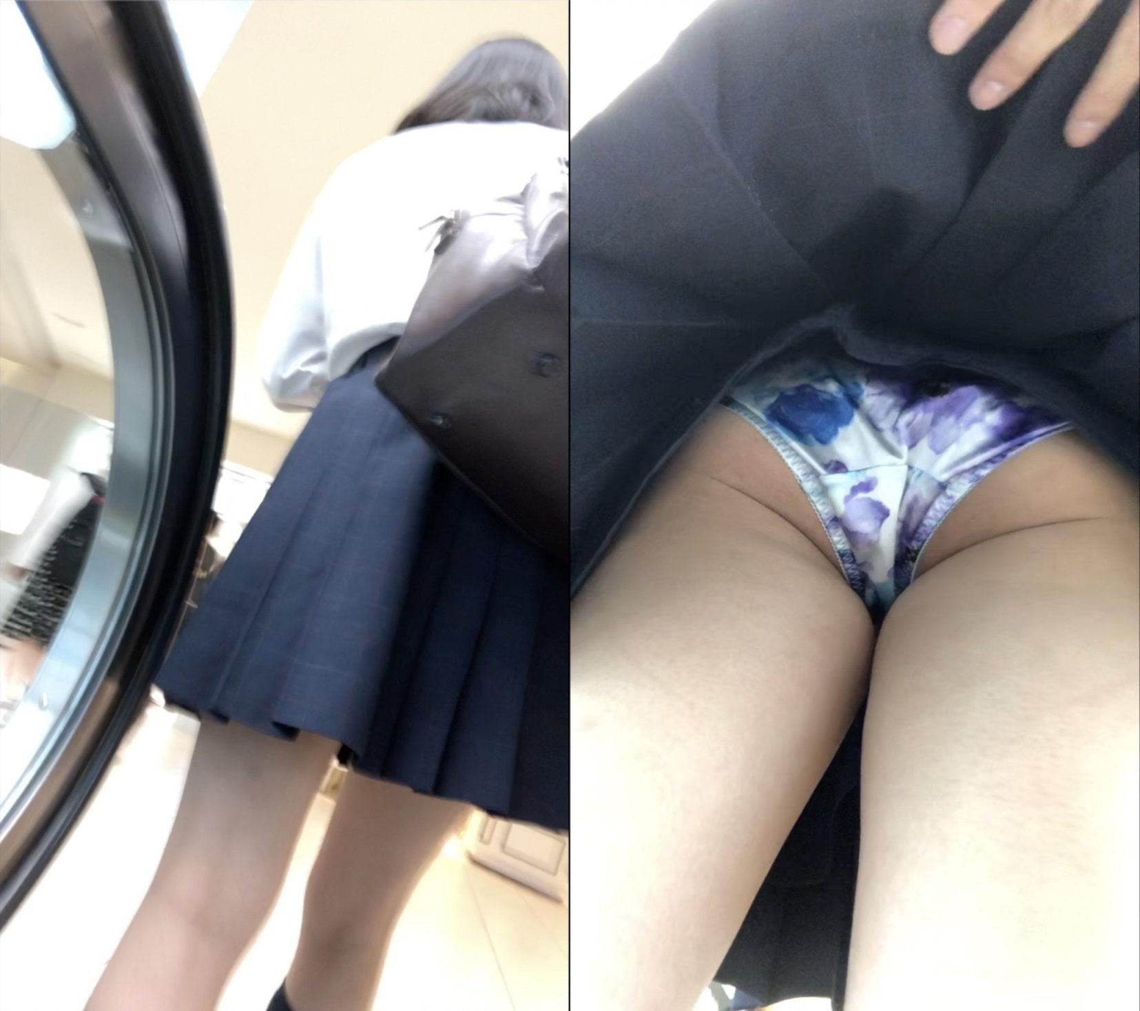 JK 逆さ撮り めくり - 028