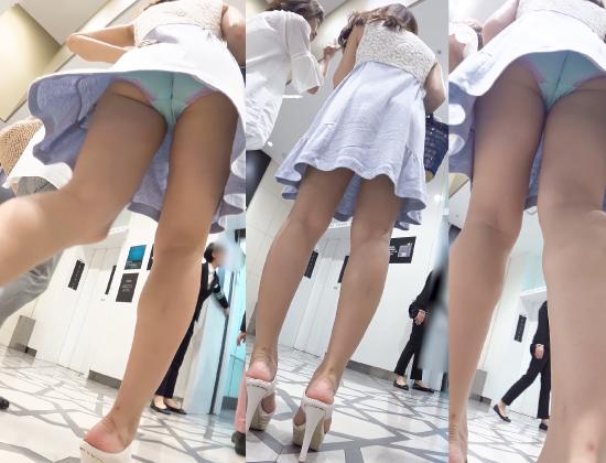 【PALPIS特価!】新フルHD高画質パンチラ逆さ撮り218 超美人おねえさまのエロい身体にピッタリパンティー