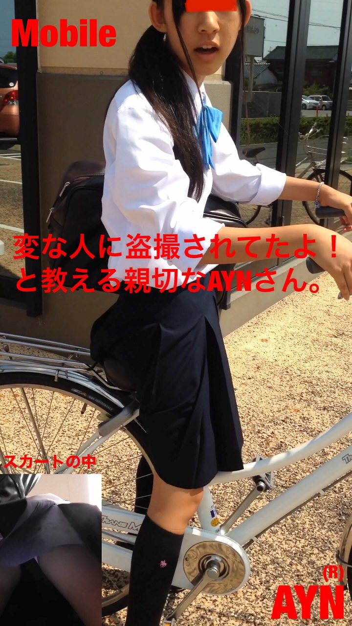 ビデオカメラとスマホの2刀流でスカート内を撮影される親切J〇