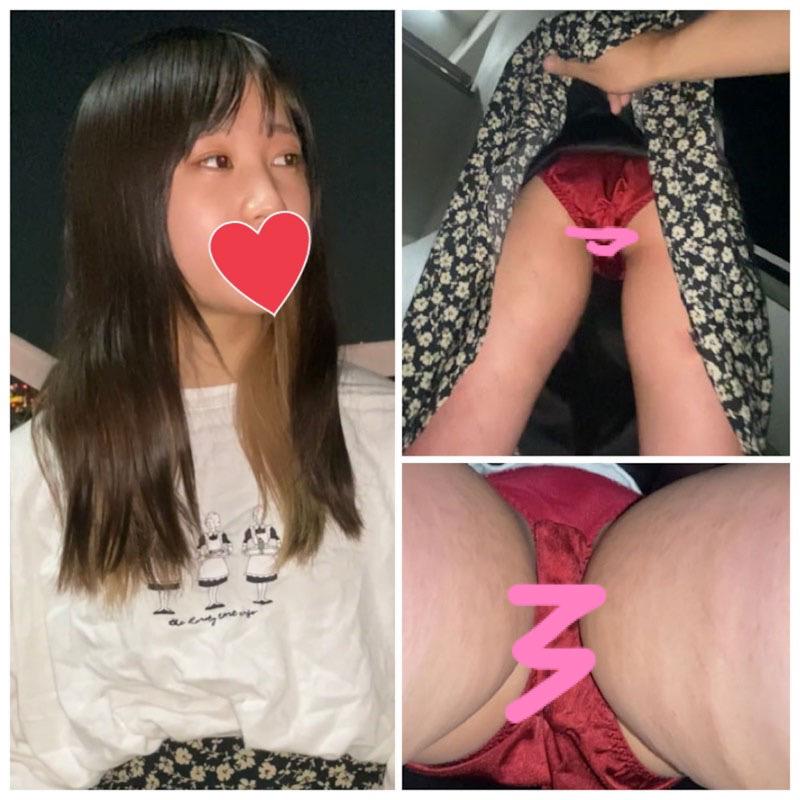 【p活女子にパンツ撮らせてもらいました②】ろりろりちびっ子JDちゃん